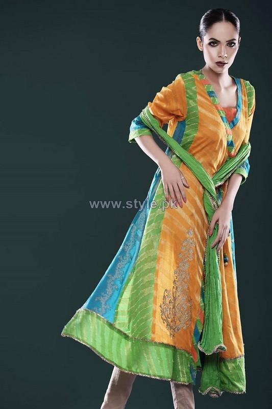Cotton Ginny Eid-Ul-Azha Dresses 2014 For Women 3