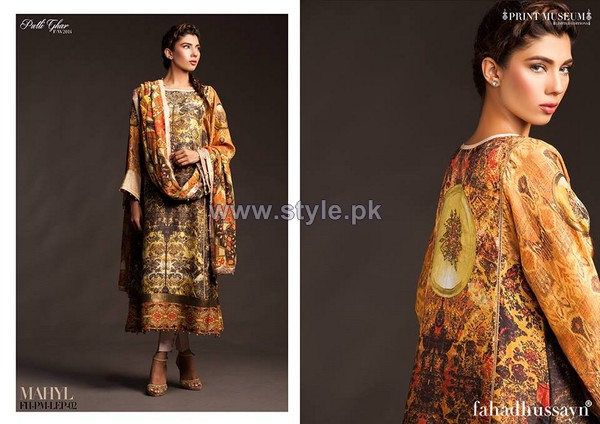 Fahad Hussayn Fall Winter Dresses 2014 For Girls 3