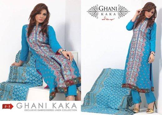 Ghani Textile Eid Ul Azha Collection 2014 For Women 009
