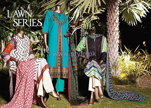Junaid Jamshed Mid Summer Dresses 2014 For Women 10