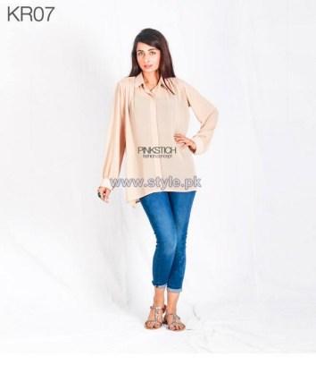 Pinkstich Eid-Ul-Azha Dresses 2014 For Girls 1