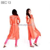 Pinkstich Eid-Ul-Azha Dresses 2014 For Girls 2