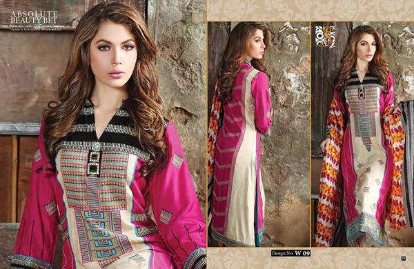 Shaista Cloth Eid Ul Azha Dresses 2014 For Women 002