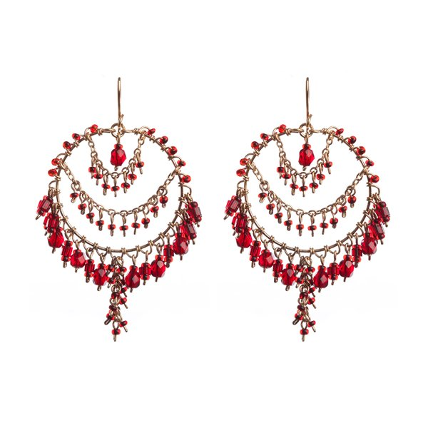Trend Of Round Shaped Earrings 2014 For Women 003