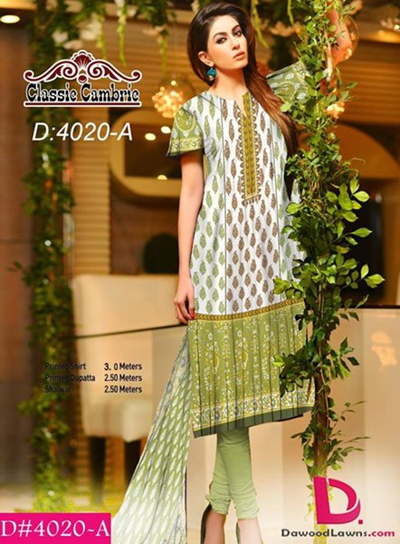 Dawood Textiles Cambric Fall Collection 2014 For Women 0014