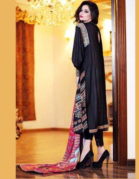 Hadiqa Kiani Fall Dresses 2014 For Women 009