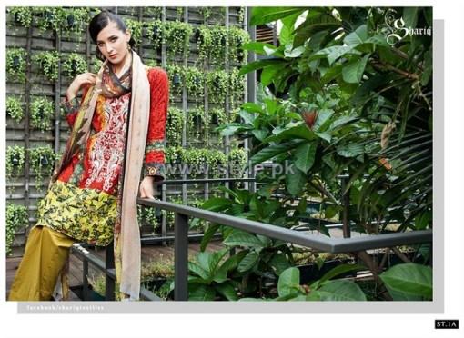 Mavi Designer Winter Dresses 2014 By Shariq Textiles 3