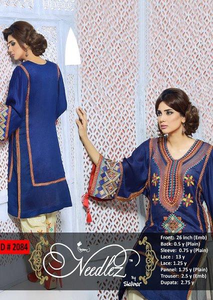 Needlez By Shalimar Eid Ul Azha Collection 2014 For Women 0010