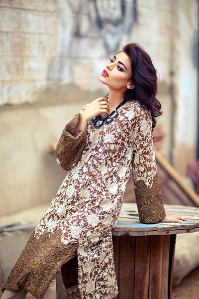 Sana Safinaz Ready To Wear Autumn Collection 2014 For Women 003