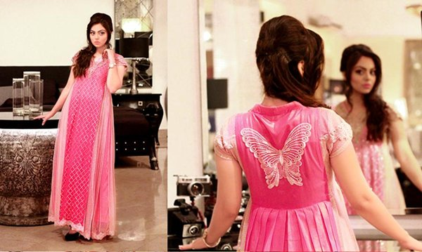 Zahra Ahmad Fall Dresses 2014 For Women 004