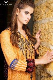 Ittehad Textiles Winter Dresses 2014 For Women 004