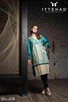Ittehad Textiles Winter Dresses 2014 For Women 007