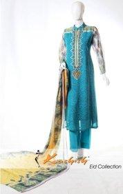 Kashish Winter Dresses 2014 For Women 008