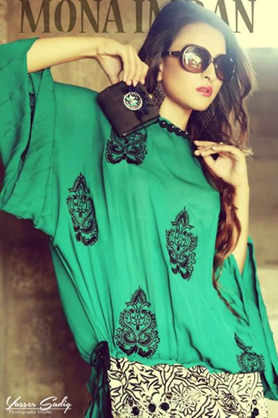 Mona Imran Autumn Dresses 2014 For Women 004