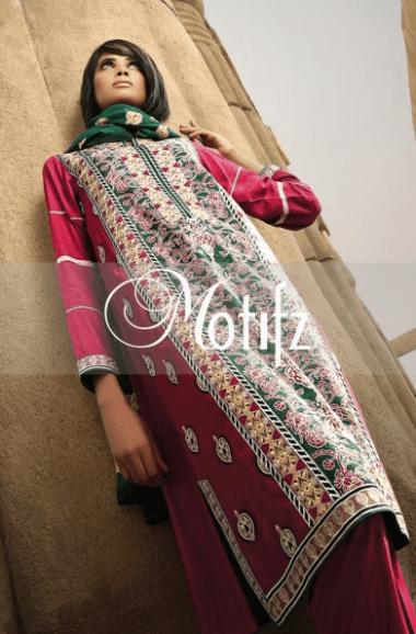 Motifz Winter Dresses 2014 For Women 006