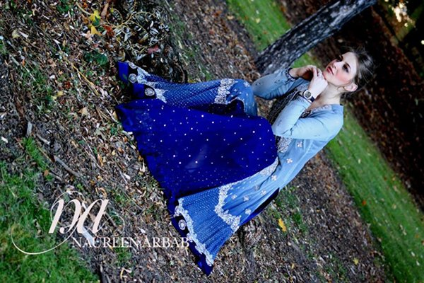 Naureen Arbab Fall Dresses 2014 For Women0010
