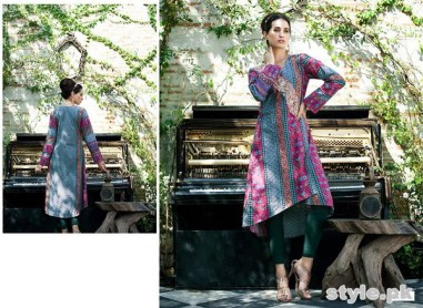 Rabea Kurti Collection 2014 by Shariq Textiles 2