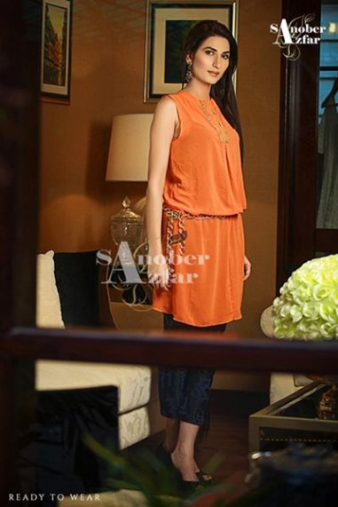 Sanober Azfar Ready To Wear Dresses 2014 For Women 003