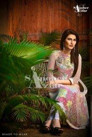 Sanober Azfar Ready To Wear Dresses 2014 For Women