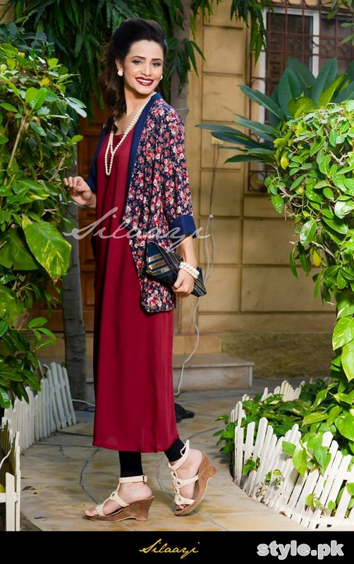 Silaayi Winter Dresses 2014 For Women 1