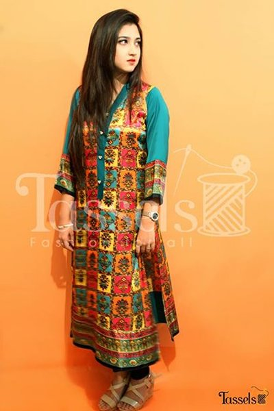 Tassels Winter Dresses 2014 For Women 004