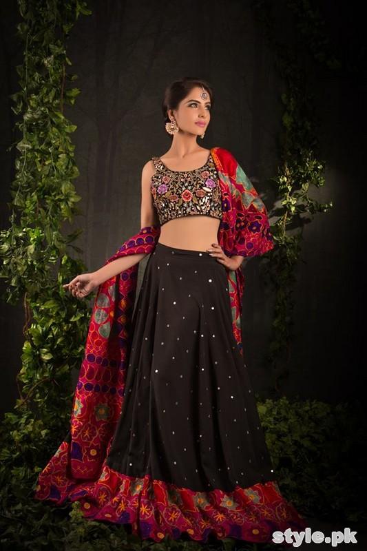 Zari Faisal Party Wear Dresses 2014 For Girls 4