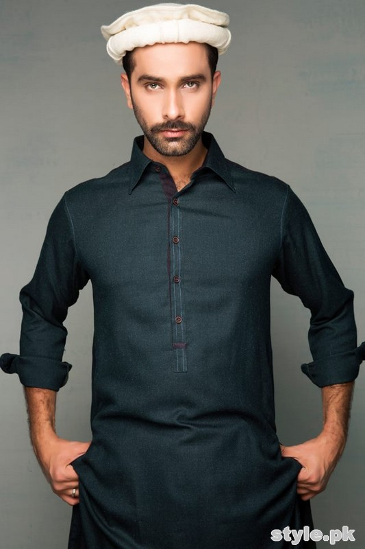 Amir Adnan Winter Collection 2014 For Men 3