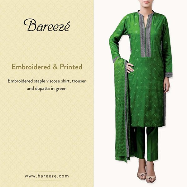 Bareeze Winter Dresses 2014 For Women 0010