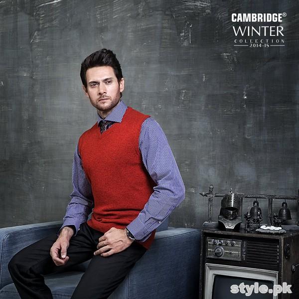 Cambridge Winter Dresses 2014 For Men 4