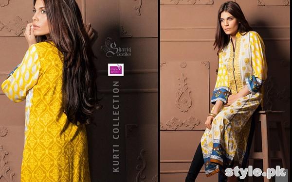 Grape Affair Kurti Collection 2015 by Shariq Textiles 2