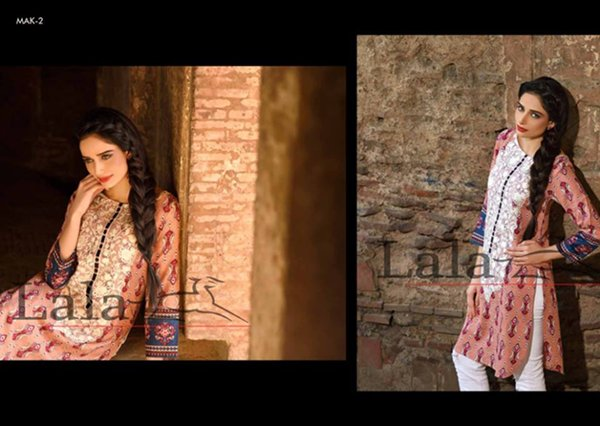 Lala Textiles Magnifique Kurti Collection 2014 Volume 2 For Women 004