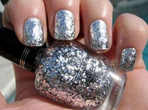 Latest Nail Art Designs 2014 For New Year 0011