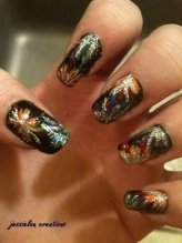 Latest Nail Art Designs 2014 For New Year 0012