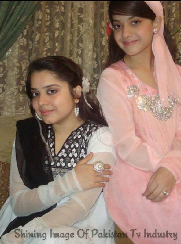 Pakistani Celebs Arisha Razi and Sara Razi