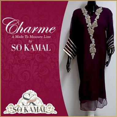 So Kamal Casual Wear Dresses 2014 For Women 0012