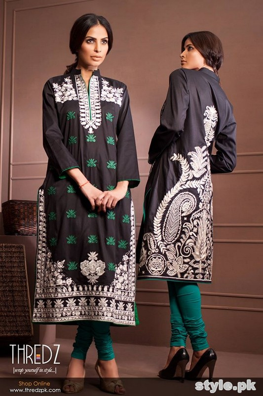 Thredz Cambric Dresses 2014-15 Volume 2 4