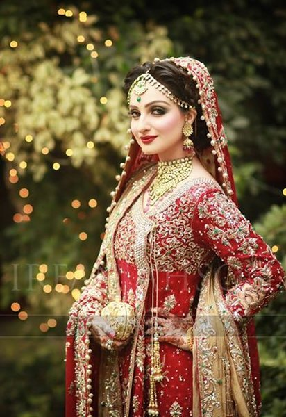 Gold Jewellery Set For Brides