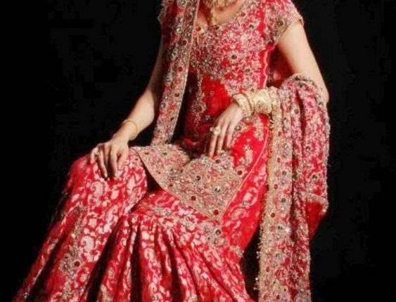 Latest Bridal Gharara Designs 2017 In Pakistan 1014
