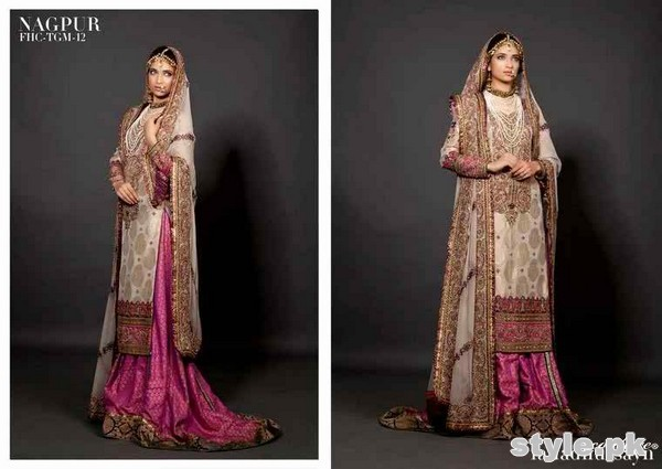Latest Bridal Gharara Designs 2017 In Pakistan 1011
