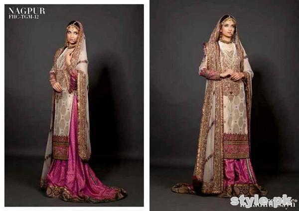 Latest Bridal Gharara Designs 2017 In Pakistan 1011