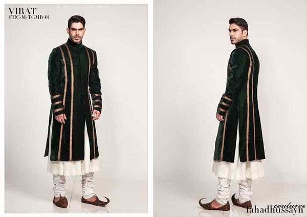 Pakistani Baraat Dresses For Boys 2015 0013