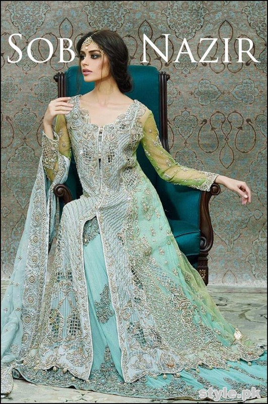 Sobia Nazir Bridal Dresses 2015 For women 2