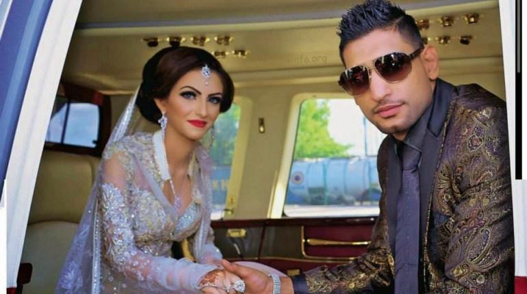 aamir khan with his cute wife