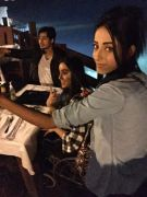 sanam chaudhry enjoying with friends