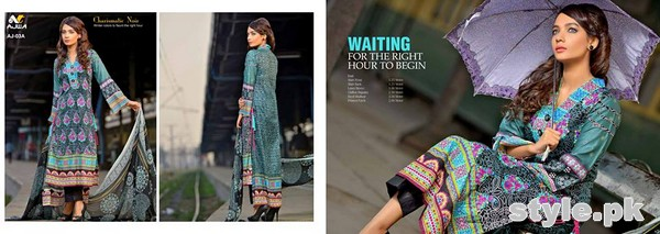 Ajwa Textile Charismatic Collection 2015 For Summer 9