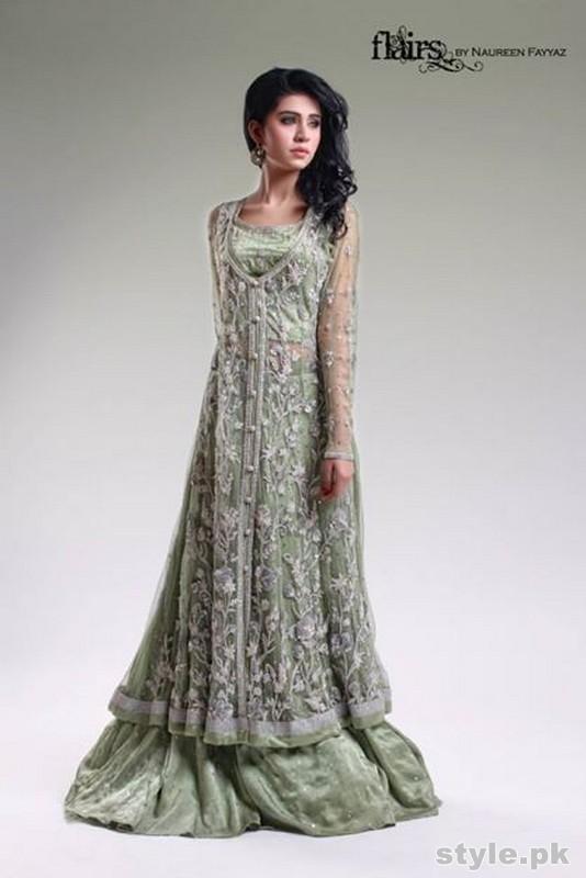 Flairs Formal Wear Dresses 2015 by Naureen Fayyaz 4