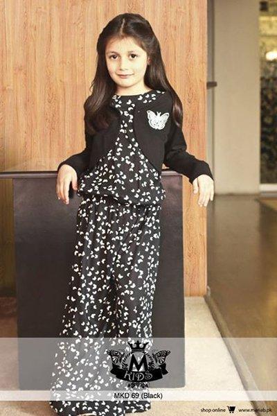 Maria B Winter Dresses 2015 for Kids