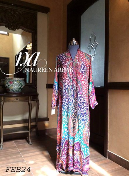 Naureen Arbab Spring Collection 2015 For Women  001