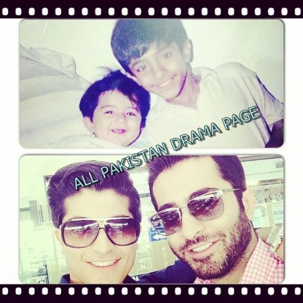 Shehryar munawar and his brother