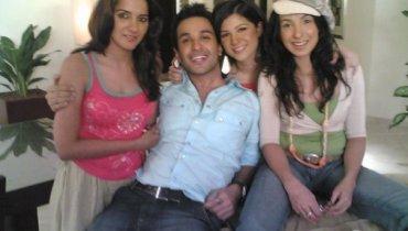 azfar rehman with indian actresses